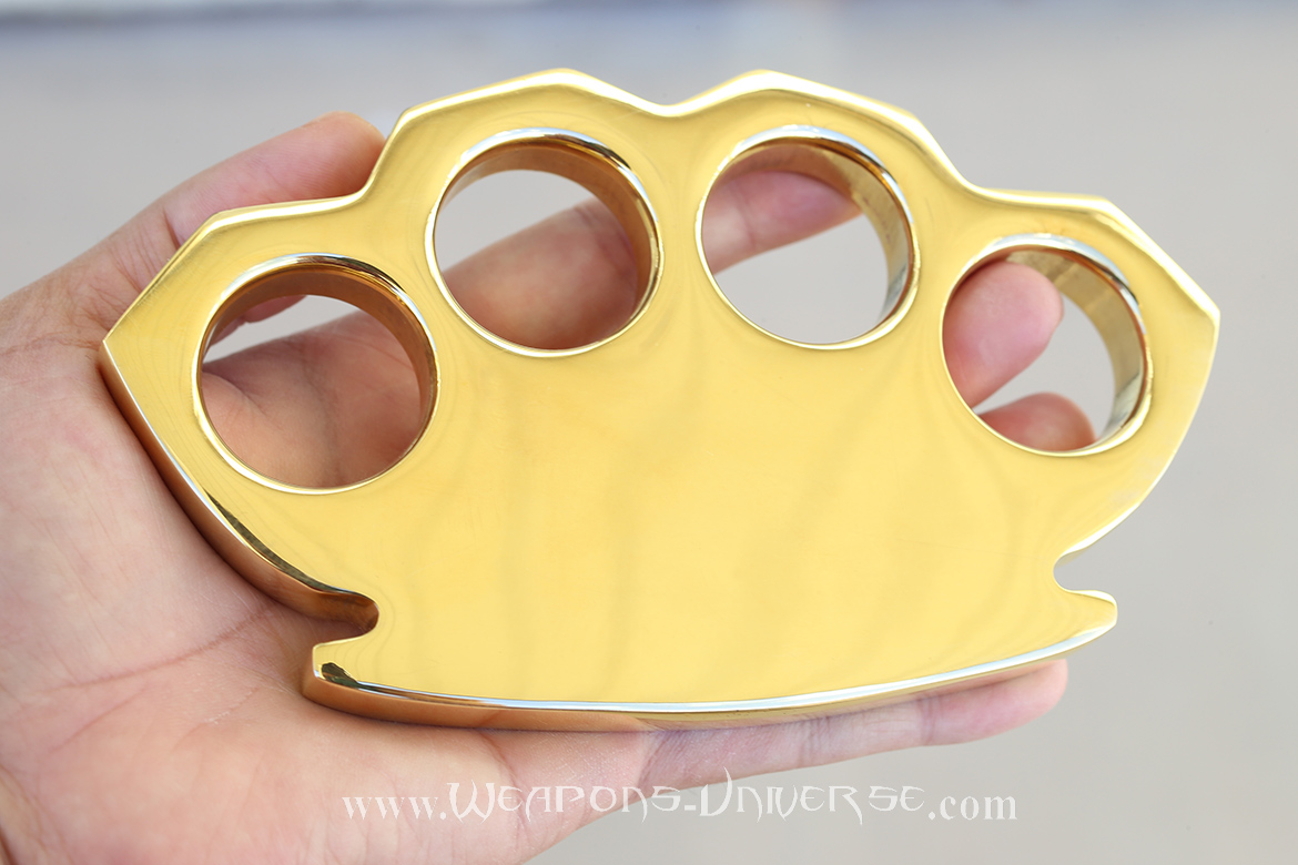 Zeus Super Massive 2 Pound Brass Knuckles