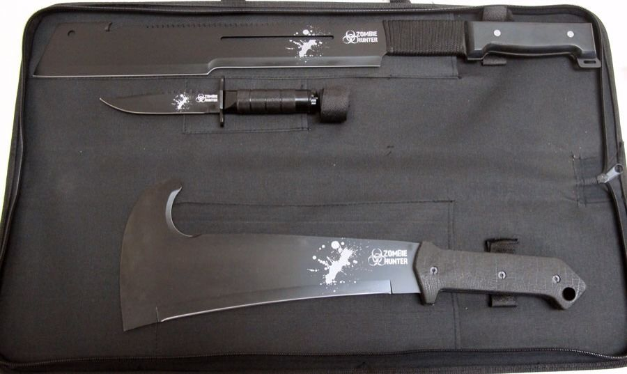 Zombie Hunter Weapons Kit Zb 001